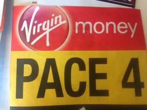 Arter's Bib for London Marathon