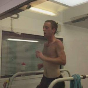 In the heat chamber at Leeds Beckett